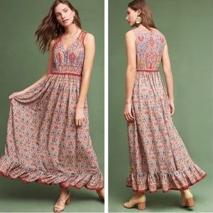 Ranna Gill Crespi Maxi Dress